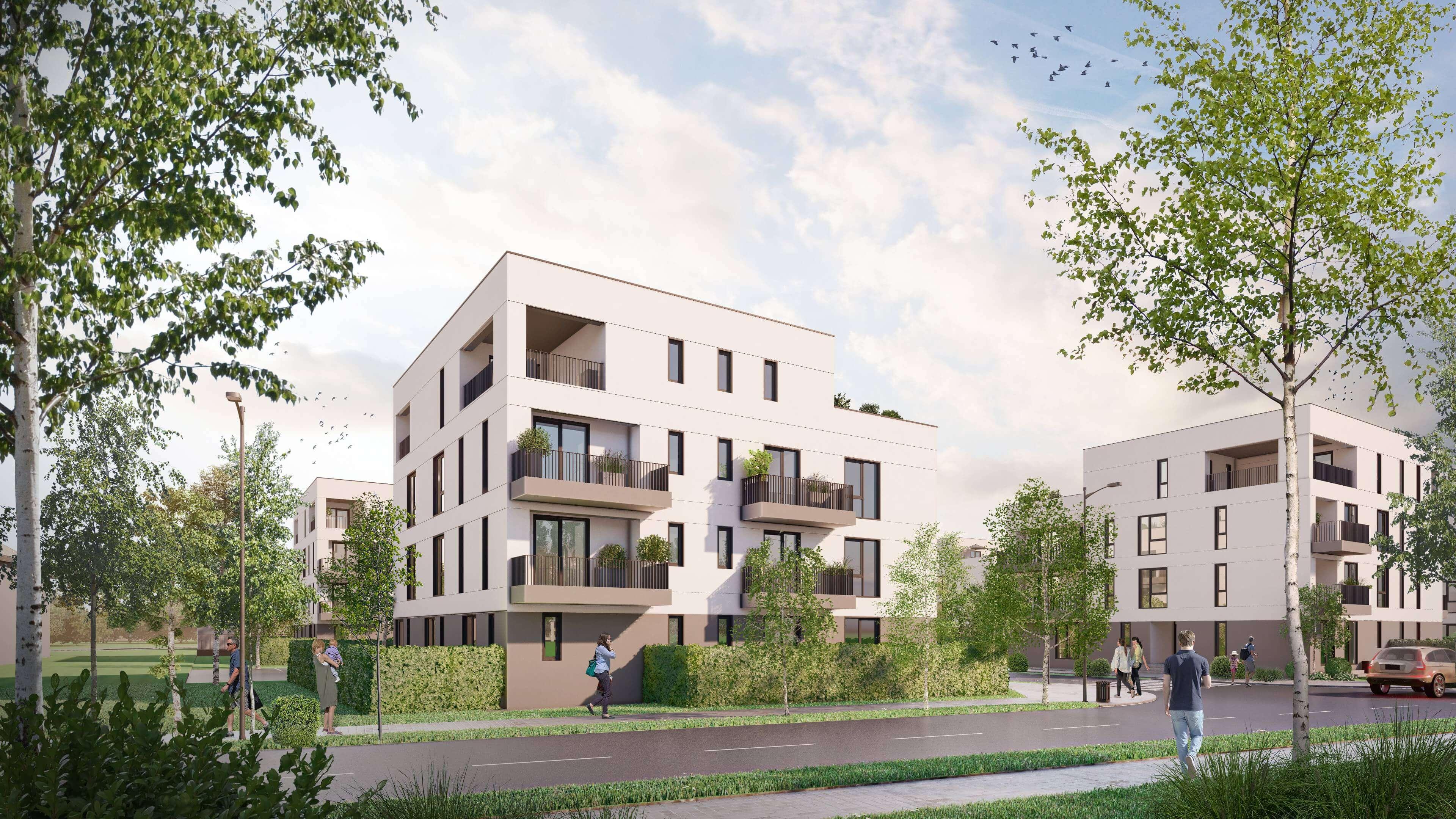 Color Life Residence - Apartamente de Vanzare Bragadiru
